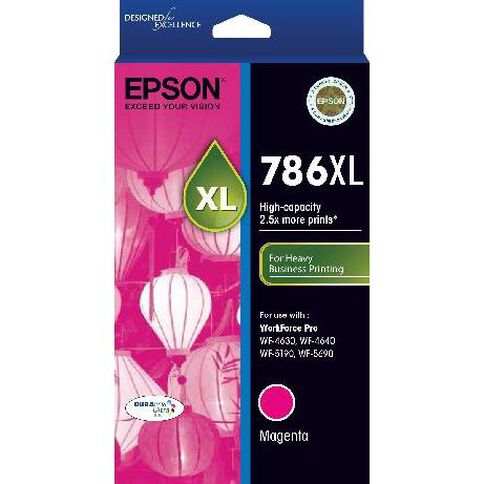 Epson Ink 786XL Magenta (2000 Pages)