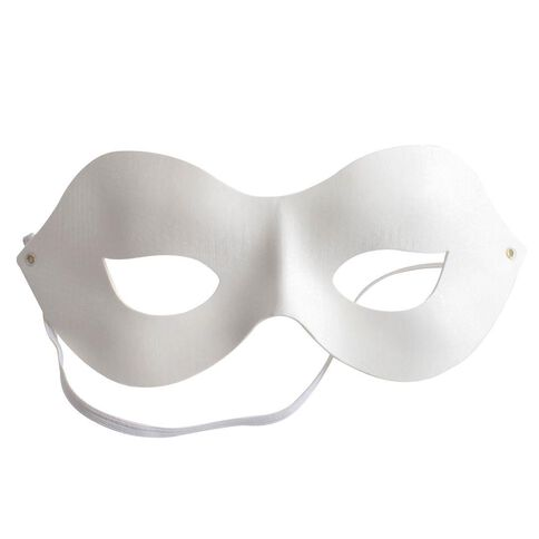 Made By Me Half Mask White