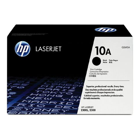 HP 10A Toner Black