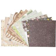 Uniti Mini Printed Paper Stack 6in x 6in 24 Sheets
