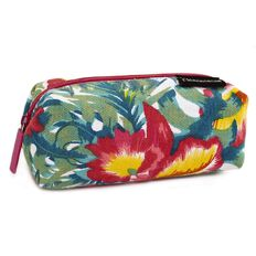 Pencil Case Bold Surf Floral White