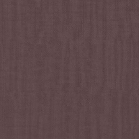 American Crafts Cardstock Textured 12 x 12 Coffee Brown