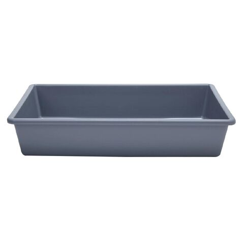 Taurus Office Tote Tray Grey 6L