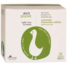 ECO Planet Auto Dishwash Tablets 30s