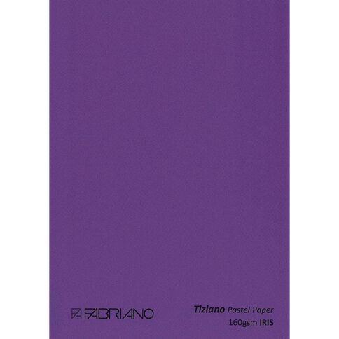 Fabriano Tiziano Pastel Paper 50cm x 65cm Iris Purple