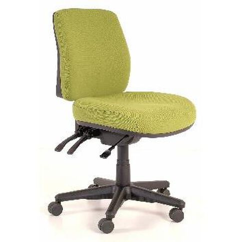 Buro Seating Roma 3 Lever Midback Chair Green