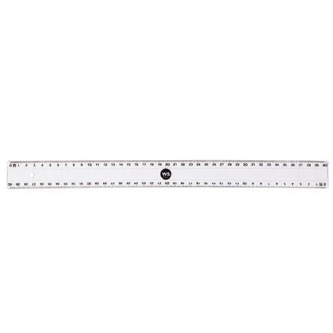 Impact Ruler Clear 40cm