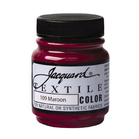 Jacquard Textile Colours 66.54ml Maroon
