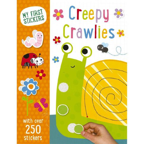 My First Sticker Creepy Crawlies by Make Believe Ideas