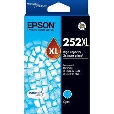 Epson Ink 252XL Cyan (1100 Pages)