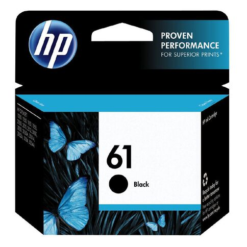 HP Ink 61 Black (190 Pages)