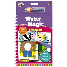 Galt Water Magic Flip Book Jungle
