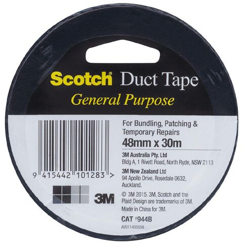 Scotch General Purpose Duct Tape 48mm x 30m Black