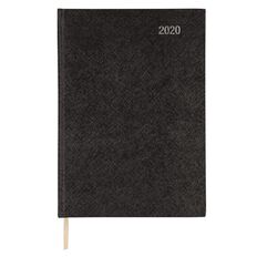 Impact Diary 2020 2 Pages Per Day Black A4