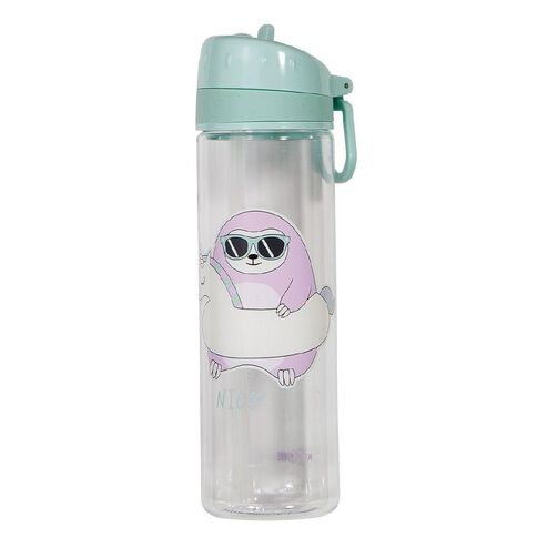 Kookie Paradise Pals Sloth Drink Bottle 600ml Green