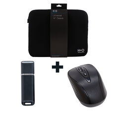 Buy any Computer, $299 or over, get a H+O Notebook Sleeve, H+O Wireless Mouse and Tech.Inc 16GB Flash Drive for $25