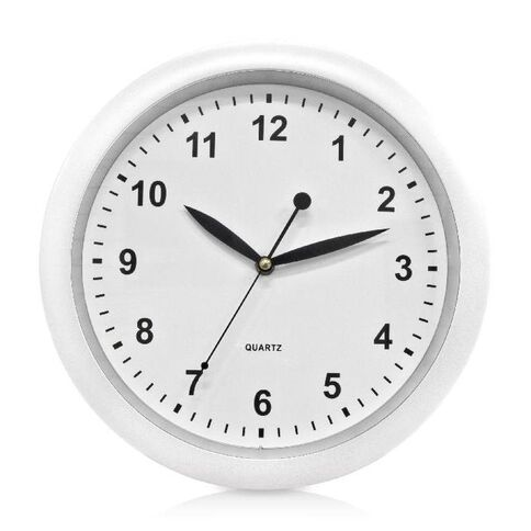 Effects Wall Clock White 30cm