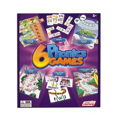 Junior Learning 6 Phonics Games