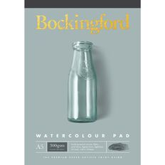 Bockingford Watercolour Pad 300 Yellow A5