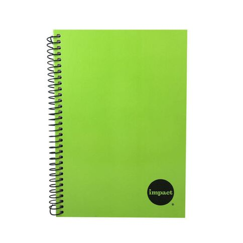 Impact Notebook Wiro Green A5