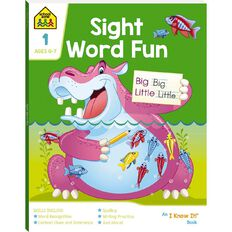 Sight Word Fun I Know It Book (6-8yrs) by School Zone