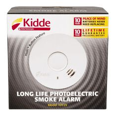 Kidde Photoelectric 10 Year Long Life Smoke Alarm