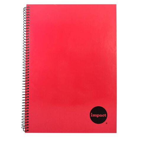WS Notebook Wiro Red A4