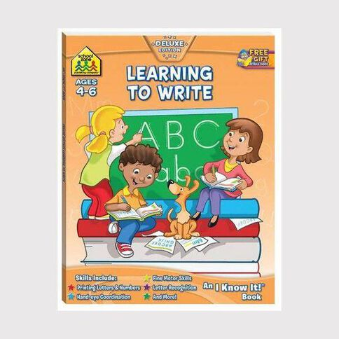 I Know It Workbook Learning to Write (4-6) by Schoolzone