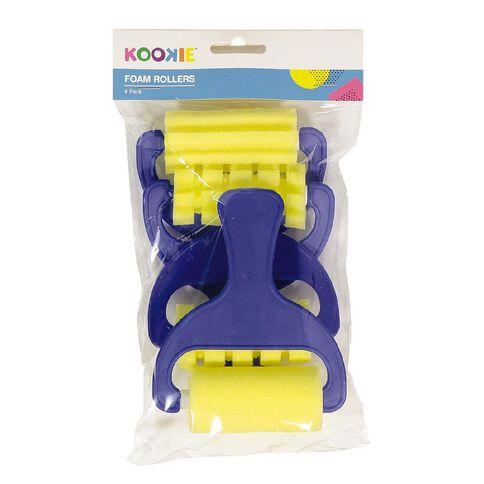 Kookie Foam Rollers 4pk