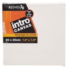 Reeves Intro Canvas 7.9in x 7.9in