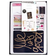 Heidi Swapp Planner Gift Set Life is Good Undated
