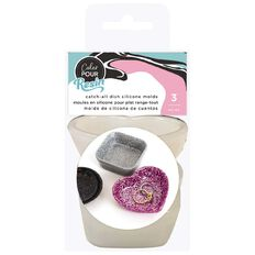 American Crafts Color Pour Mold Catch All Dish 3 Pack