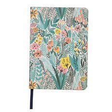 Uniti Fun & Funky Q4 PU Notebook Garden Teal A5