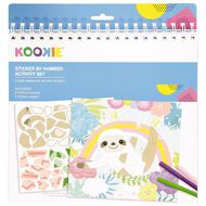 Kookie Activity Pad Sticker by Number