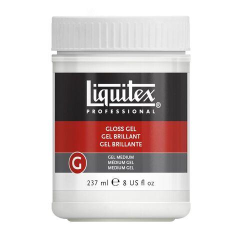 Liquitex Gloss Gel Medium 237ml Clear