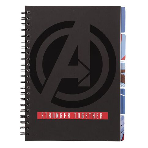 Avengers Project Notebook A4