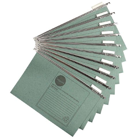 Impact Suspension Files 10 Pack Green