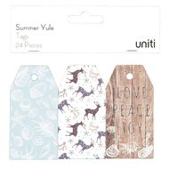 Uniti Summer Yule Tag 24 Pieces