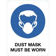 Impact Dusk Mask Must be Worn Sign Large 610mm x 460mm
