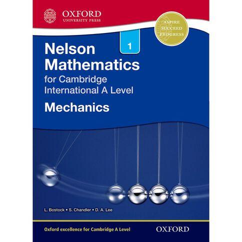 As/A Year 12/13 Nelson Mechanics 1