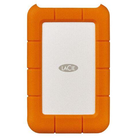 LaCie 2TB Rugged Portable USB 3.1 USB-C
