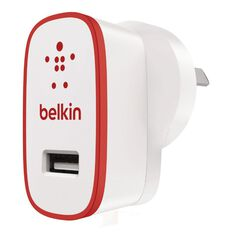 Belkin Boost Up 2.4A Home Charger Red