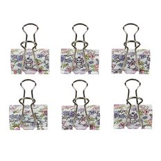 Disney Aristocats Binder Clips 6 Pack
