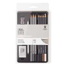 Winsor & Newton Studio Sketching Set in Tin 10 Piece