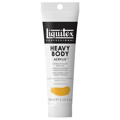 Liquitex Hb Acrylic 59ml Cadmium Deephue Yellow