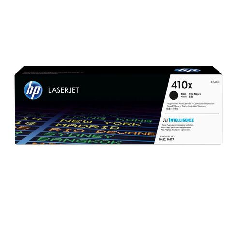 HP Toner 410X Black (6500 Pages)