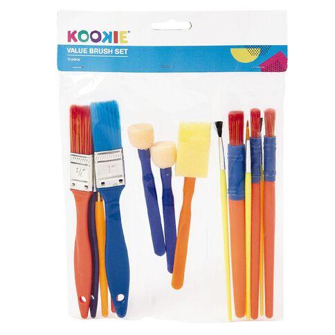 Kookie Brush Value Set 15 Piece