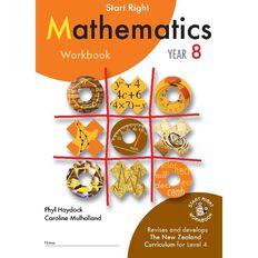 SR Year 8 Mathematics Workbook