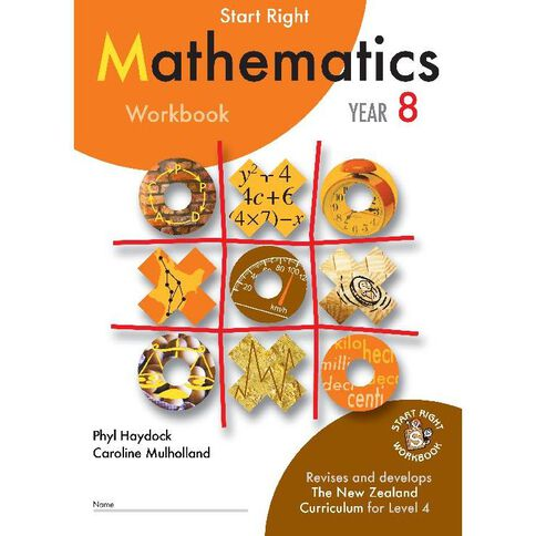SR Year 8 Mathematics Workbook