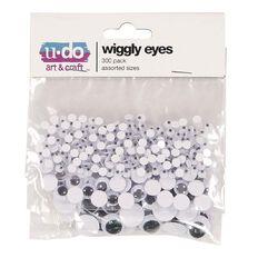 U-Do Wiggly Eyes 300 Pack